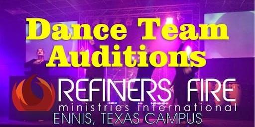 RF Dance Team Auditions - Ennis Campus