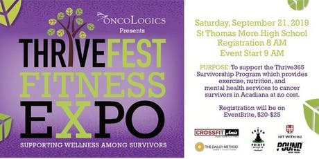 THRIVEFEST 2019 Fitness Expo tickets