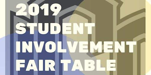 UCO Student Involvement Fair 2019