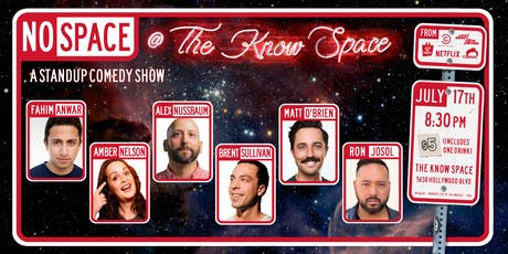 No Space @ The Know Space (Stand up Comedy) tickets