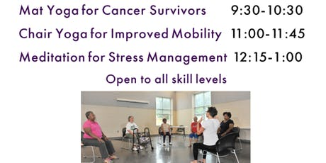 FREE Yoga Class for Cancer Survivors at The Grewal Center tickets