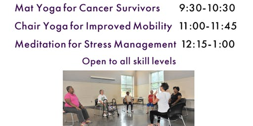 FREE Yoga Class for Cancer Survivors at The Grewal Center