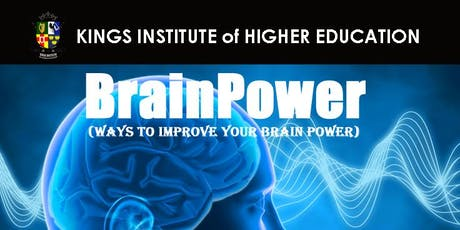 BrainPower (ways to improve your brainpower) tickets