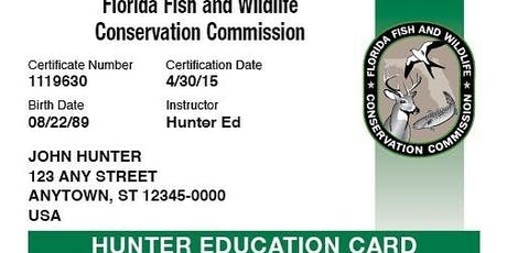 UF's NWTF Swamp Strutters' Hunter Safety Course tickets