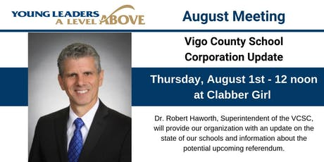THYL August Meeting: Vigo County School Corporation Update tickets