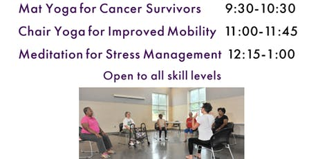 FREE Chair Yoga Class at The Grewal Center tickets