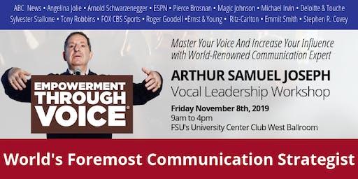 Vocal Leadership: Empowerment Through Voice with Arthur Joseph