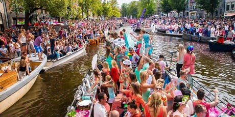 Amsterdam Canal Parade & Street Parties & Gay Pride 2019 billets