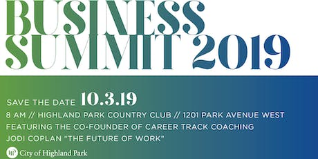 City of Highland Park Business Summit tickets