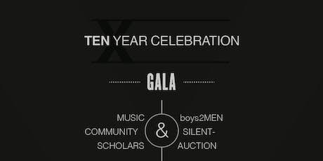 Rejuvenate - Gala 10 Year Celebration tickets