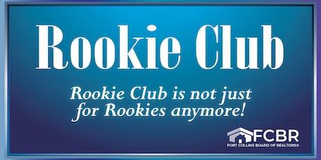 Rookie Club December tickets