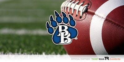 Brewer vs Tison 8th Grade Football