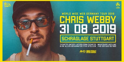 Chris Webby Live in Stuttgart - 31.08.19 - Schräglage