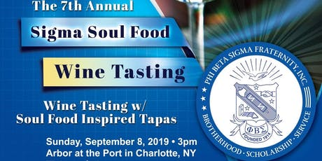 7th Sigma Soul Food and Wine Tasting tickets