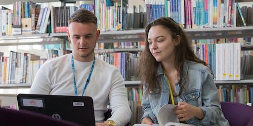 Summer enrolment - Thurs 29 August - Berwick Main Campus