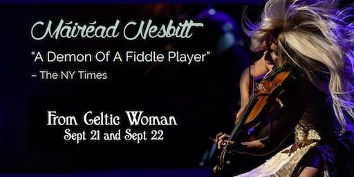 Mairead Nesbitt - of Celtic Woman - matinee