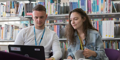 Summer enrolment - Higher Education - Tues 3rd Sept - Berwick Main Campus