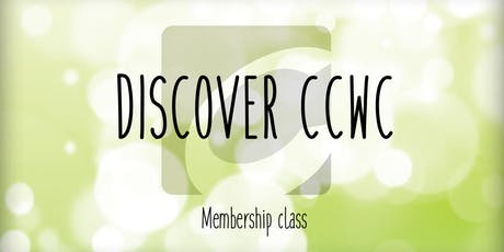 """Discover CCWC"" Membership tickets"