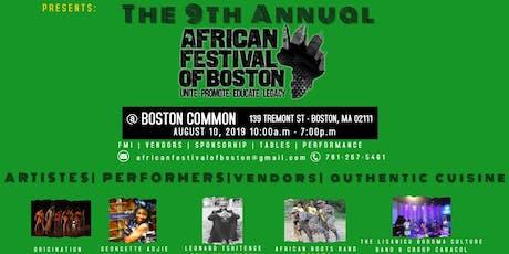 @afrimericanone'LivesinMe'@theAfricanFestivalofBoston tickets