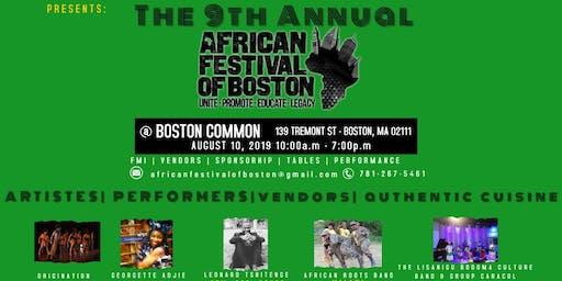@afrimericanone'LivesinMe'@theAfricanFestivalofBoston