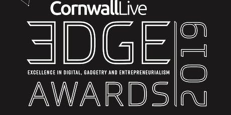 CORNWALL LIVE EDGE AWARDS 2019 - LAUNCH  tickets