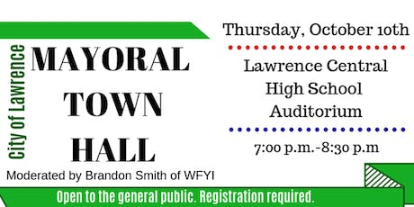 City of Lawrence Mayoral Town Hall tickets