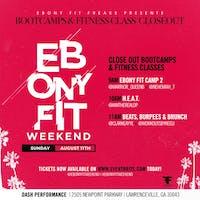H.E.A.T W/ @iamtherealdp (Ebony Fit Weekend)