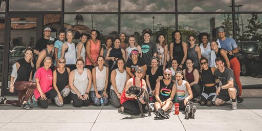 CycleBar + PureBarre Fitness Pop Up @ Dat Dog