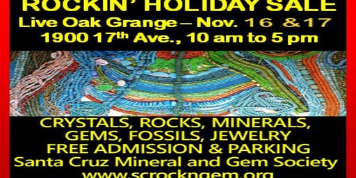 Santa Cruz Holiday Gem and Mineral Show