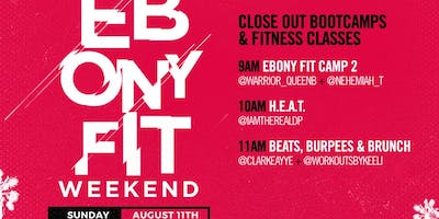 Beats, Burpees & Brunch W/ @clarkeayye & @workoutsbykeeli ***** Fit Weekend