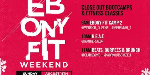 Beats, Burpees & Brunch W/ @clarkeayye & @workoutsbykeeli Ebony Fit Weekend