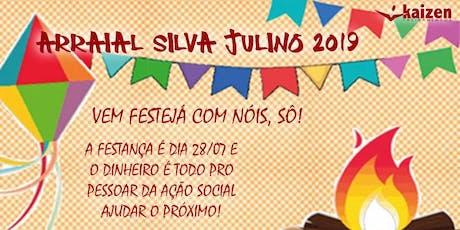 Arraial Silva Julino 2019 ingressos