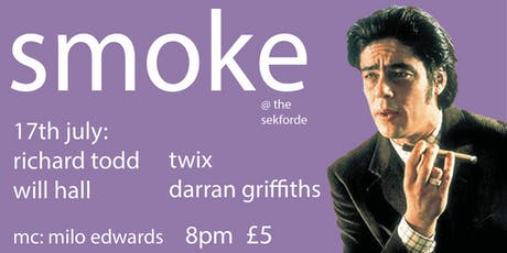 Smoke Comedy featuring Richard Todd tickets