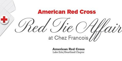 Red Cross Red Tie Affair at Chez Francois 2020