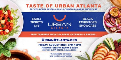 Taste of Urban Atlanta: 2 Year Anniversary Celebration