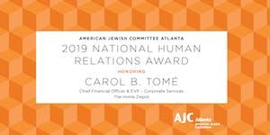 AJC Atlanta's 2019 National Human Relations Award...