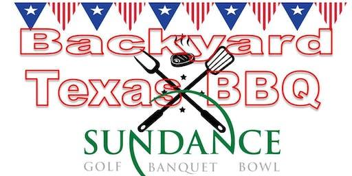 Backyard Texas BBQ at Sundance