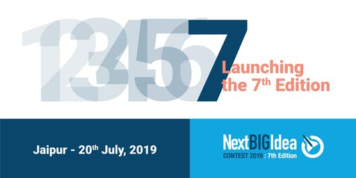 Next BIG Idea contest : 7th Edition Launch in Jaipur