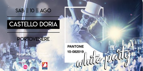 WHITE PARTY 2019 by Rotaract Club La Spezia biglietti
