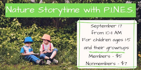 Nature Storytime with P.I.N.E.S. tickets