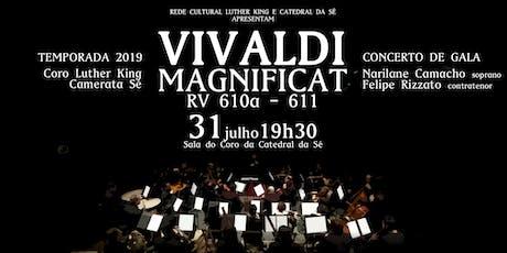 Vivaldi - Magnificat RV 610a - 611 ingressos