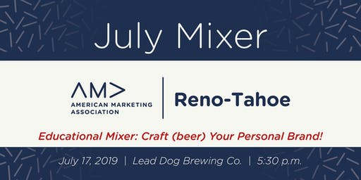 AMA Educational Mixer: Craft (beer) Your Personal Brand!