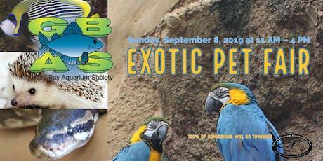GBAS Fall Exotic Pet Fair tickets