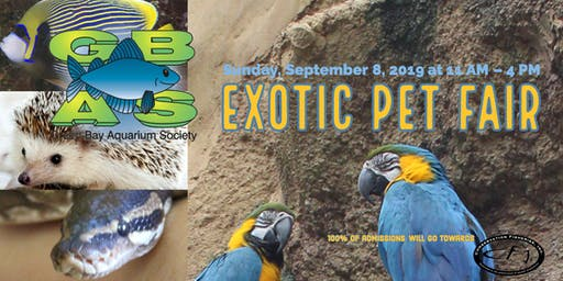 GBAS Fall Exotic Pet Fair