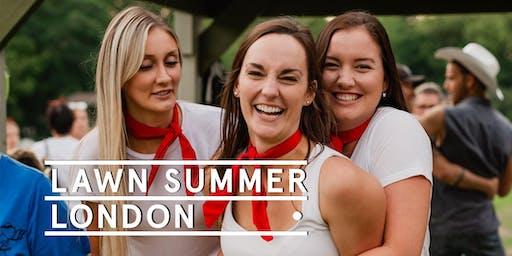 London Week 4 - Social Tickets @ Lawn Summer Nights