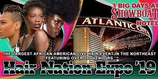 Hair Nation Expo Spring Show 2020  (3 DAY EVENT)