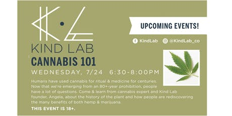Cannabis 101 tickets