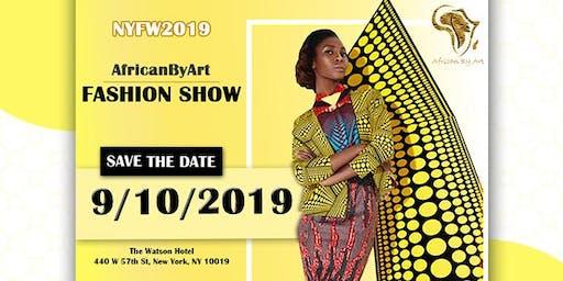 NYFW2019 - AFRICANBYART FASHION SHOWS