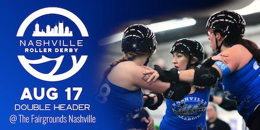 Nashville Roller Derby August 2019 Doubleheader