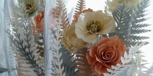 Paper crafting floral dome with Lauren Hayes